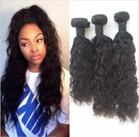 Wet And Wavy Unprocessed Virgin Brazilian Hair Water Wave Br...
