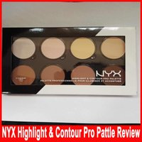 NYX Highlight & Contour Pro Pattle Review 8 Color Pallette B...