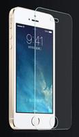 2016 Verre Trempé Protecteur d'écran 0.3mm traité iPhone6 / 6s 4.7 '' iphone6s, plus 5,5 '' pour iPhone 5 Samsung S6 S5 NOTE 4 avec boîte de détail