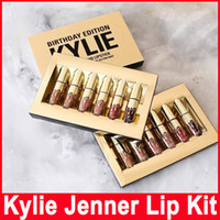 Gold Kylie Jenner Birthday Edition Lip Kit Matte Liquid Lips...