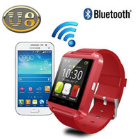 Bluetooth Smartwatch U8 U Smart Watch Montres Montres pour iPhone 4 4S 5 5S Samsung S4 Note S5 2 Note 3 HTC Android Phone smartpho OTH014