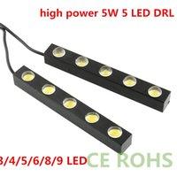 DRL 4 5 6 8 9w LED WHITE DAYTIME RUNNING LIGHT EAGLE EYE LED...