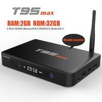 T95max Amlogic S905 Quad Core Andorid 5. 1 TV BOX 2GB 32GB Me...