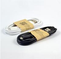 Para S7 Nota 5 Cable Micro USB Nota 4 Cable Cable de datos Micro USB 3.0 Sync Cargador de carga Adaptador de cable Para Samsung Galaxy S7 s6 Nota 5 HTC
