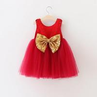 Baby Girls Christmas Dress 2016 New Autumn Winter Sleeveless...