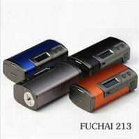 El 100% original de Sigelei Fuchai 213W TC Modifica la batería dual 18650 Suministros de Fuchai 213 TC Modifica el Sieglei 213w El mejor para Moonshot RTA