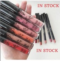 BEST QUALITY Kylie Cosmetics liquid lipstick + lip liner duo...
