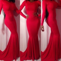 vestido de festa longo 2016 Mermaid Evening Dress Ladies hol...