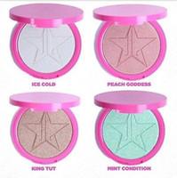 2016 Совершенно новый JS 5 Star Skin Frost Highlighter Cosmetics King Tut Персик Богиня макияж горячий деталь по DHL