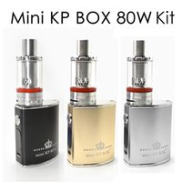 Mini original SMOD KP CAJA 80W Kit E Kits de cigarrillo 1500mAh vaporizador mecánica Mod VS vapor tormenta