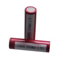 18650 HE2 3.7V 2500mAh аккумуляторная батарея Цилиндрический 18650 HE2 литий-ионный аккумулятор для фонарика с Высокая скорость разряда