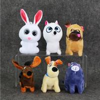 6 pcs  set The Secret Life of Pets PVC Action Figure Collect...