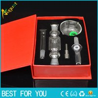 MINI Red Nectar collector kit honey straw Glass pipe water p...