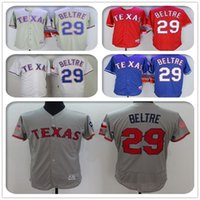 Mens #29 Adrian Beltre #Blank Jersey Color Red Blue Gray Whi...