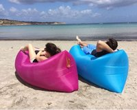 Cheap Price 2016 Lamzac Fast air Inflatable sleep bag Instan...