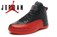 On Sale Discount dan 12 Retro Basketball Shoes Red Black Che...
