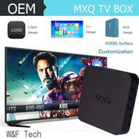 MXQ Android TV Box Media Player Smart TV Box Amlogic S805 MX...