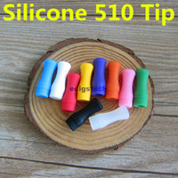 Individually wrapped 510 Thread Silicone Mouthpiece Cover Dr...
