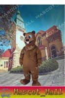 MALL129 Custom Beaver Mascot Cartoon Costume Fancy Dress Adu...