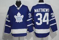 wholesale men Toronto Maple Leafs 34 Matthews Hockey Jerseys...