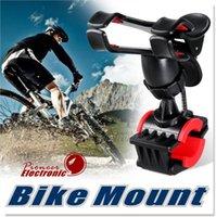 Support de vélo de vélo de moto Support de support de guidon de vélo pour les téléphones mobiles intelligents GPS MTB Support iPhone 6 plus / 6 / 5s // 5 / 4S / 4, appareils GPS