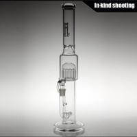 2015 nouvelle souveraineté stem12 Percolateur de bras et Gridded 18.8mm Bongs en verre grille bong Water Pipe Clear haute 18 pouces Livraison gratuite