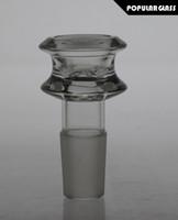 Mobius tasse en verre verre à glissière boules de verre pour les tuyaux en verre d'eau et bongs fumer des bols de taille commun 18.8mm / 14.4mm PG066