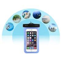 boîtier étanche 2016 l'eau universel pour samsung galaxy s7 Iphone 5 6 6S Plus, sac de téléphone portable à sec sac de téléphone imperméable à l'eau libre DHL