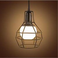 new design retro wrought iron led pendant l antique industrial lighting fixtures
