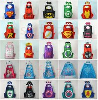 75 Styles 70*70cm Double layer Cape with Mask kids Cosplay S...