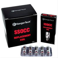 Kanger SSOCC Coil Replacement Coil Head Kangertech Vertical OCC Coil Pour Subtank / NEBOX / SUBVOD 5pcs / lot