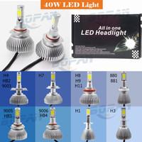 H1 H3 H4 H7 H8 H9 H11 9005 9006 880 881 40W 4000LM LED Bulb ...