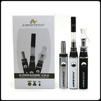 E Paradise 2.0 Kits Aceite de cera de hierbas secas E Cig Kit 3 Tipo de atomizador Vaporizer Pen Kit