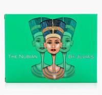 Haute qualité! JUVIA'S PLACE 12Pcs Makeup Palette (Vert) La Nubian 2ème édition Palette Eyeshadow palette DHL gratuitement