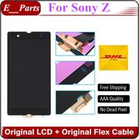 Pour Sony Xperia Z LCD L36H L36I Écran LCD C6606 C6603 C6602 c6601 Lcd Affichage Écran tactile Digitizer Assemblée
