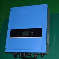 Трехфазный инвертор напряжения 5kw 230VAC 50/60 HZ Высокоэффективный инвертор, подключенный к солнечной энергетической системе