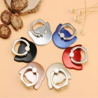 Mobile phone ring ring buckle Owl head support Creative univ...
