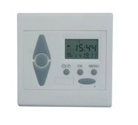 Plastic Plastic Window Blinds Wirelss Timer Motorized Blinds Timer Remote Control Blinds Timer