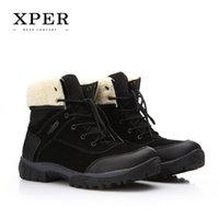 2016 Brand XPER Men Shoes Men Winter Boots Size 40~45 Warm P...