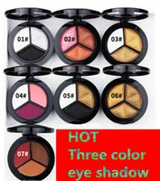 Smoky Cosmetic Set 3 Colors Professional Natural Matte Eyesh...