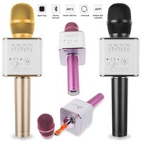 2017 Q9 Bluetooth Microphone Speaker Karaoke KTV Wireless Po...