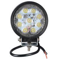 1pcs 4 Inch 27W LED Work Light for Indicators Motorcycle Dri...