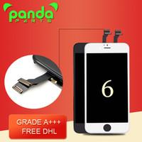 Original Grade A +++ 4.7 pouces BOE lcd diplay écran tactile numériseur avec remplacement complet de l'assemblage de cadre pour l'iphone 6 DHL libre