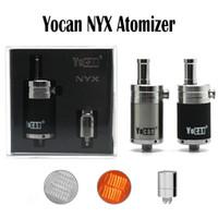 Authentique Yocan NYX Atomiseurs Cire Tank Vaporisateur Avec Quartz Extra Double Bobine Fit 510 Thread 15W-25W Box Mods Yocan Evolve Plus