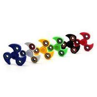 6 cores ABS HandSpinner Fingertips dedos espiral Gyro Torqbar Fidget Spinner Descompressão Tempo Killing Toy CCA5774 200pcs