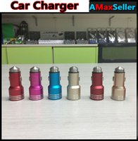 Safety Hammer 2 USB Car Charger 5V 2A Colorful Universal Ada...