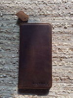Crazy Horse Leather Phone Wallet Cool Design Best Quality 3 ...