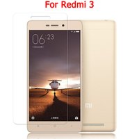 Wholesale- Redmi 3 3s Screen Protector Tempered glass Film 9H...