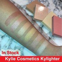 2017 Kylie Kylighter Glow Kit Highlighter 6 цветная косметика Kylie французская ванильная хлопковая конфета соленая мармеладка марли светящаяся маска для лица