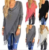7 colors Autumn Cardigan Women Long Sleeve Slash Knitted Ove...